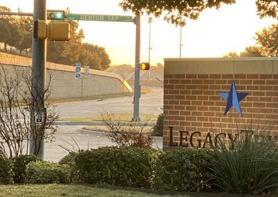 Image of Legacy Texas Bank signage